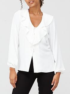 v-by-very-ruffle-long-sleevenbspblouse-ivory