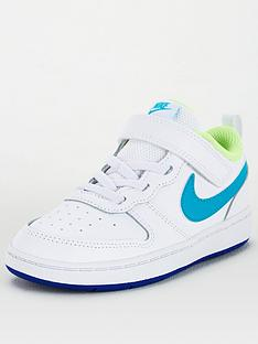 nike-infant-court-borough-low-2-trainers-white