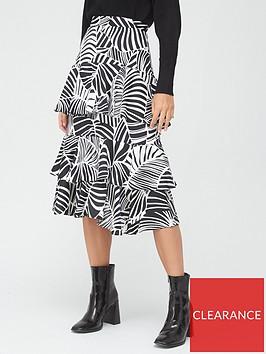 river-island-printed-frill-tiered-midi-skirt-black