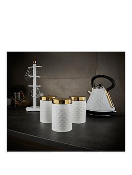 swan-gatsby-set-of-3-diamond-pattern-canisters-ndash-white