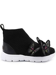 sophia-webster-girls-river-sneakers-black