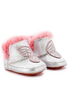 sophia-webster-baby-girls-butterfly-faux-fur-baby-boots-silvernbsp