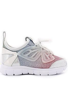 sophia-webster-girls-fly-by-sneakers-silver