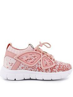 sophia-webster-girls-knit-fly-by-sneakers-pink