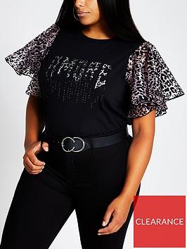 ri-plus-rock-animal-sleeve-t-shirtnbsp--black