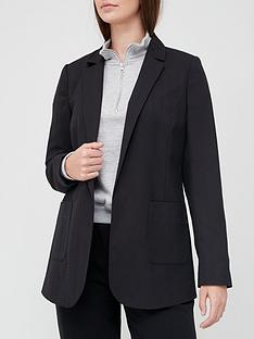 v-by-very-pocket-edge-to-edge-jacket-black