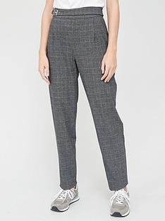 v-by-very-buckle-detailnbsptrouser-grey-check