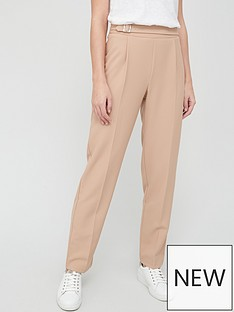 v-by-very-buckle-detail-trouser-camel