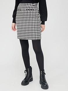v-by-very-houndstooth-mini-skirt-blackwhite