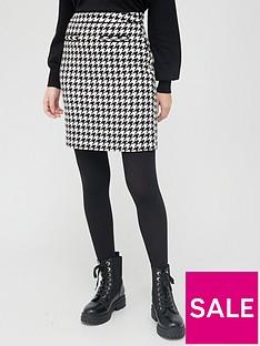 v-by-very-houndstooth-mini-skirt-blackwhite