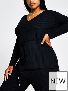 ri-plus-rib-jersey-tunic-black