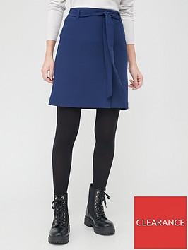 v-by-very-tie-waist-mini-skirt-navynbsp
