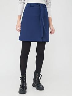 v-by-very-tie-waist-mini-skirt