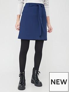 v-by-very-tie-waist-mini-skirt