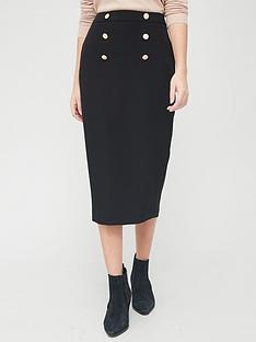 v-by-very-military-midi-skirt-blacknbsp