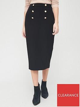 v-by-very-military-midi-skirt-blacknbsp