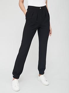 v-by-very-cuffed-popper-smart-trouser-black