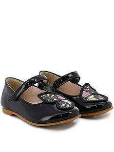 sophia-webster-infant-girls-butterfly-embroidery-patent-shoes-black