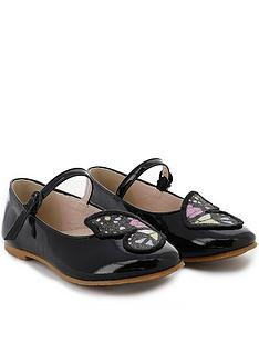 sophia-webster-junior-girls-butterfly-embroidery-patent-shoes-black