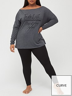 v-by-very-curve-valuenbspoff-the-shoulder-top-and-legging-pj-set-grey-black