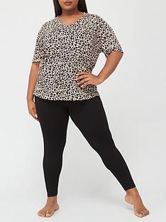 v-by-very-curve-leopard-longline-top-and-legging-nightwear-set-animal-black