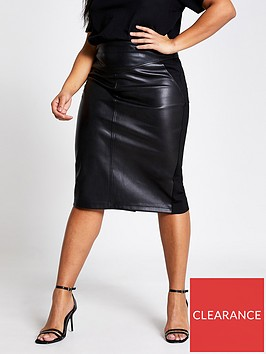 ri-plus-punbspponte-hybrid-pencil-skirt-black