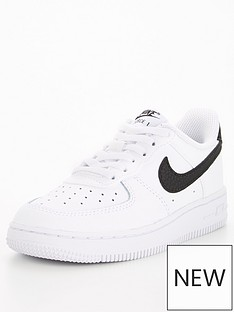 nike-childrens-air-force-1-trainer-whiteblack