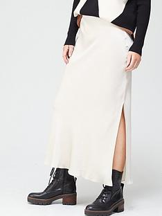 river-island-side-split-satin-midi-skirt-cream