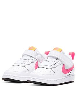 nike-infantnbspnike-court-borough-low-2-trainers-white