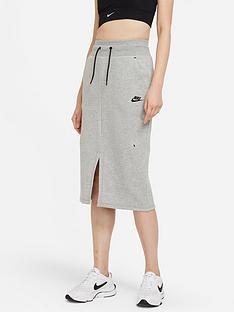 nike-nsw-tech-fleece-skirt-dark-grey-heather