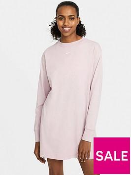nike-nswnbspessential-long-sleeve-dress-lilac