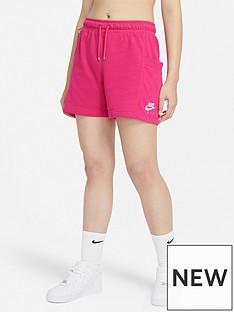 nike-air-nswnbspfleece-shorts-pink