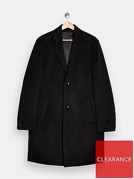 topman-classic-fit-coat-black