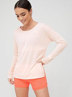 nike-training-dry-layer-long-sleevenbsptop-pink