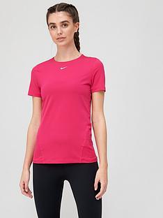 nike-pro-training-short-sleeved-t-shirt-pink