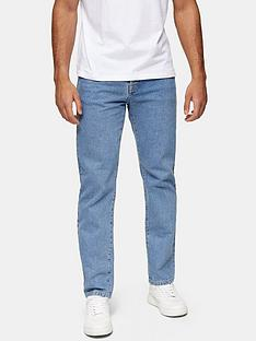 topman-mid-wash-straight-fit-jeans-blue