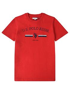us-polo-assn-boys-stripe-rider-print-t-shirt-red