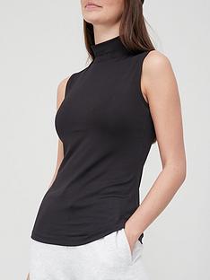 v-by-very-turtleneck-vest-black