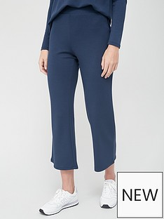 v-by-very-kick-flare-cropped-trouser-navy