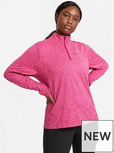 nike-running-long-sleevenbspelement-zip-top-curve-pink