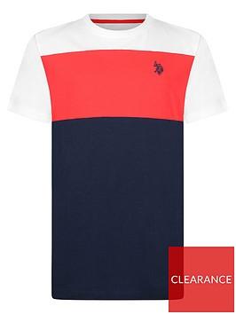 us-polo-assn-boys-colourblock-t-shirt-white