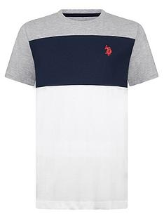 us-polo-assn-boys-colourblock-t-shirt-grey-marl