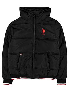 us-polo-assn-boys-padded-jacket-black