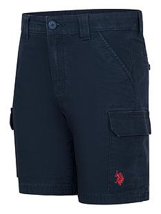 us-polo-assn-boys-cargo-shorts-navy