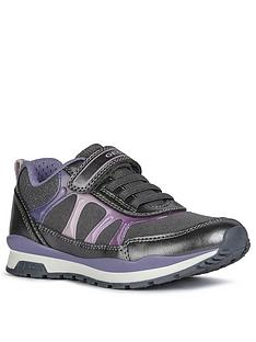 geox-girls-pavel-strap-trainer-grey-purple