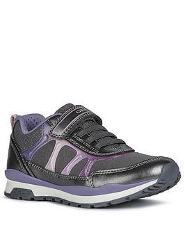 geox-girls-pavel-strap-trainer-grey-purple