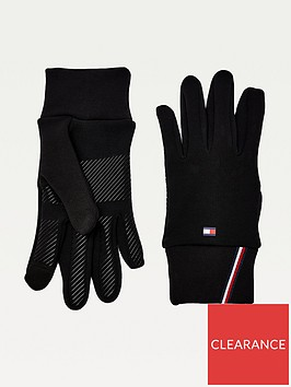 tommy-hilfiger-antibacterial-washable-day-gloves-black