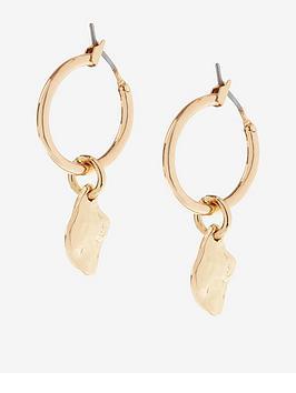 mint-velvet-nugget-drop-earrings-gold