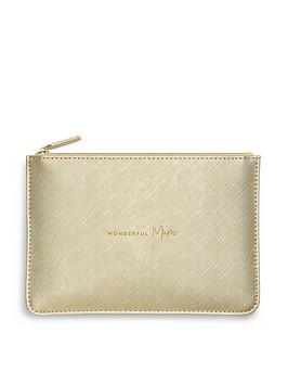 katie-loxton-perfect-pouch-wonderful-mum-metallic-gold-16-x-24cm
