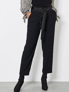 mint-velvet-mint-velvet-tie-waist-tapered-twill-trouser